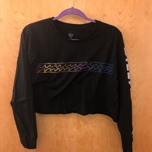 Billabong Long Sleeve Crop-top